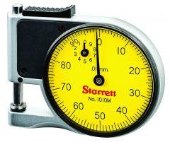 STARRETT 1010MZ Dial Indicator Pocket Gage (1010MZ)