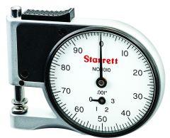 STARRETT 1010RZ Dial Indicator Pocket Gage (1010RZ)