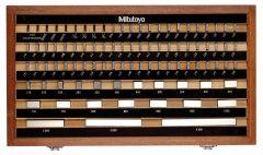 Mitutoyo Mitutoyo 0.1001 - 4 In Gauge Blocks - Gage Block Set (516-902-26)