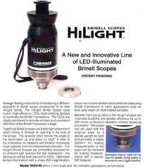 *Customer Return* Newage HiLight Scope for Brinell Hardness Analysis (5620-01)