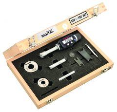 STARRETT S770BXTDZ Electronic Internal Micrometer Set, 3-Point Contact (S770BXTDZ)
