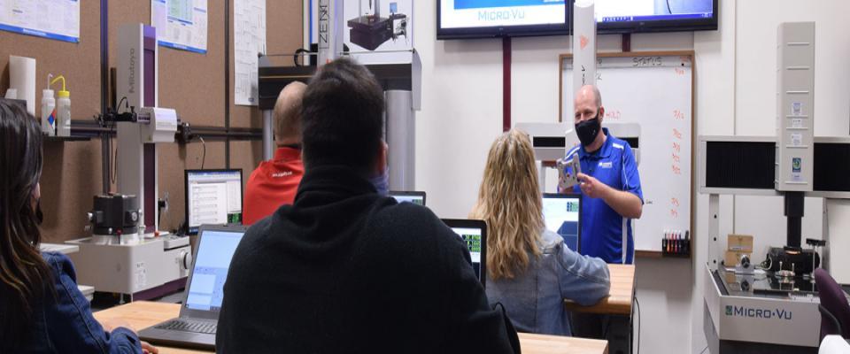 Monthly Micro-Vu InSpec Advanced Software Training